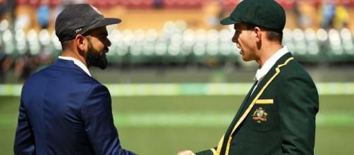 Australia vs India live on Fox Sports (Image via Hotstar screencap)