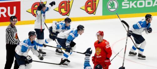 Finlandia dejó tendida en el hielo a los rusos para pasar a la gran final.www.detroitnews.com