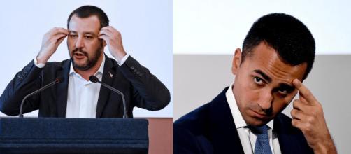 Matteo Salvini e Luigi Di Maio.