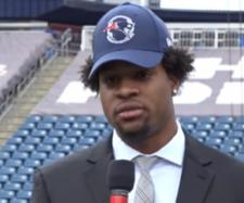 N'Keal Harry was selected 32nd overall in the 2019 NFL Draft. - [NESN / YouTube screencap]