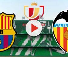 Barcelona x Valencia ao vivo na ESPN pela Copa do Rei. (Reprodução/ Montagem)