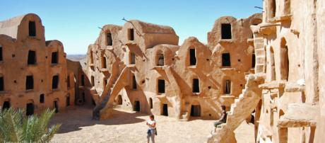 """Ksar Ouled Soltane - 15th-century granary and """"Star Wars"""" film location. [Image lludovic/Flickr]"""