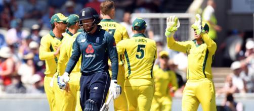 England vs Australia live on Hotstar.com (Image via ICC/Twitter)