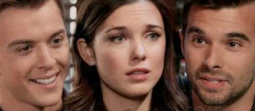Michael may end up with Willow and Chase may fall for Lulu. [Image Source: Soap Hub Spoilers/YouTube]