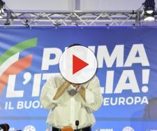 Il leader della Lega e ministro dell'Interno, Matteo Salvini