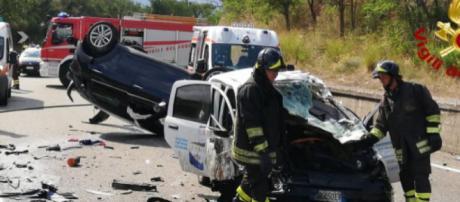 Calabria, ragazzo muore in un incidente stradale. (foto di repertorio)