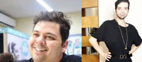 Gustavo Mendes após perder 35 kg com cirurgia bariátrica. (Reprodução/Instagram/@gustavomendestv)