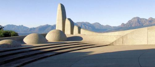 Monument to the Afrikaans language, Paarl, Western Cape, South Africa [Image Potjie/Flickr]