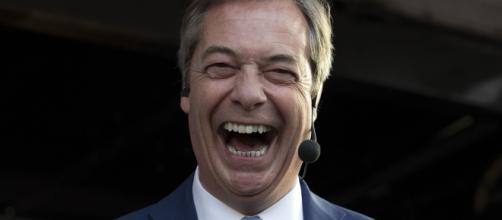 Nigel Farage torna sulla scena politica inglese. foto - bt.com