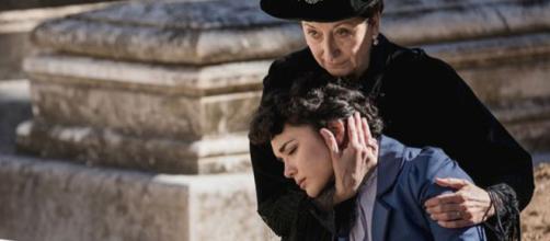 Una Vita, trame: Blanca manipolata da Ursula chiude la storia con Diego