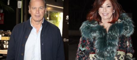Ana Rosa se enfada con Bertín Osborne y lo despide de la entrevista
