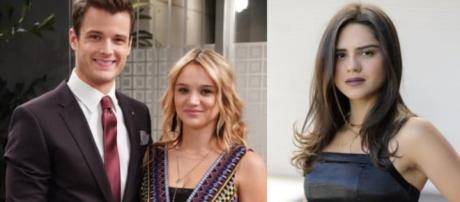 Summertime as well as Ms. Newman/Abbott will bring challenges for Lola and Kyle. (Image Source:CBS Soap SpoliersYouTube.