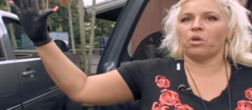 """Gogs Most Wanted and Dog the Bounty Hunter star Beth Chapman jokes about """"mama's Boy"""" Garry. [Image credit - A&E 