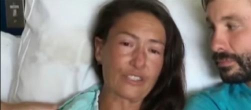 Missing hiker found alive in Hawaii. [Image source/CBS Evening News YouTube video]