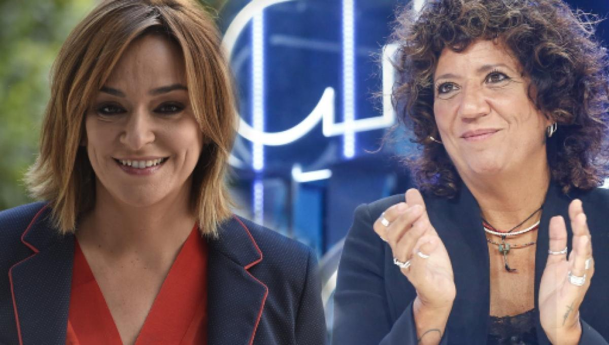 Toñi Moreno Y Rosana Se Pasean Abrazadas Y Besándose Por Las Calles De Madrid