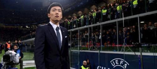 Il presidente dell'Inter, Steven Zhang