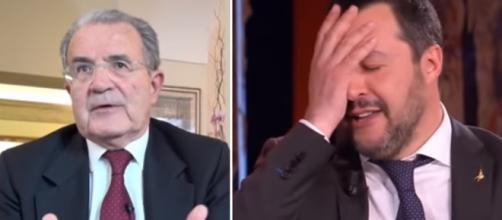 Romano Prodi esprime il suo punto di vista sulle elezioni europee (Ph. Youtube)