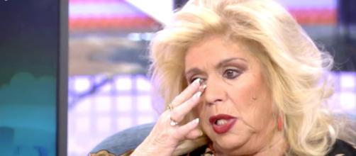 María Jiménez, durante una visita a 'Sábado Deluxe'. / Telecinco