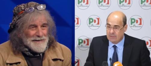 Mauro Corona punge Pd e Zingaretti: 'Fastidiosa esultanza da stadio, con chi si alleano?'