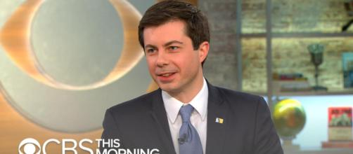 Mayor Peter Buttigieg is beginning to develop a serious campaign for the presidency. [Image Credit] CBS/YouTube