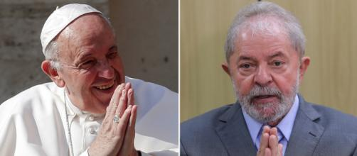 Papa enviou carta e pediu para Lula não desanimar e acreditar em Deus. (Arquivo Blasting News)