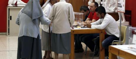 Una monja investigada por un posible robo de votos