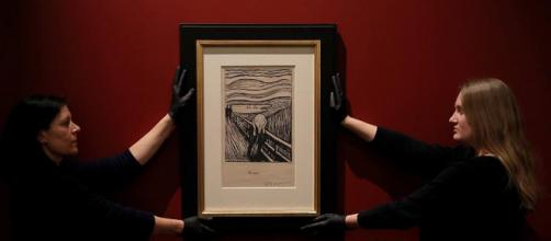 "Al British Museum la mostra ""Edvard Munch-Love and Angst"" (foto - dailymotion.com)"
