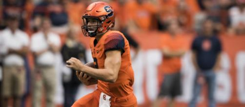 Eric Dungey is Syracuse's all-time leader in passing yards. - [The NewsHouse / Flickr]