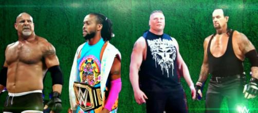 Goldberg is returning to WWE. [WWE / YouTube screencap]