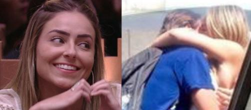 Paula e o namorado. (Reprodução/ TV Globo/ Instagram/ @paulasperlingreal)