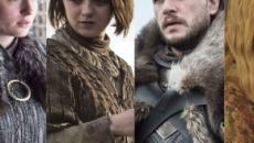 L'évolution des personnages de Game of Thrones en 8 saisons