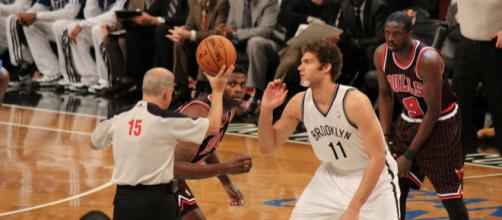 Brook Lopez has more points than anyone else in a Nets uniform. [Image Source: Flickr | Shinya Suzuki]