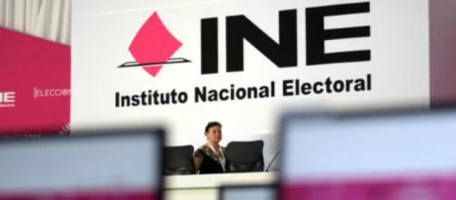 El INE alistando todo para las próximas elecciones.
