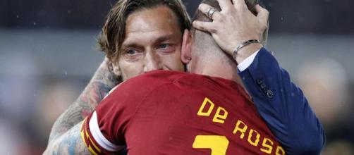 Francesco Totti e Daniele De Rossi.