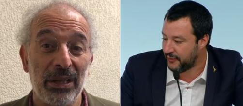Gad Lerner risponde a Salvini sul suo ritorno in Rai (Ph.Youtube)