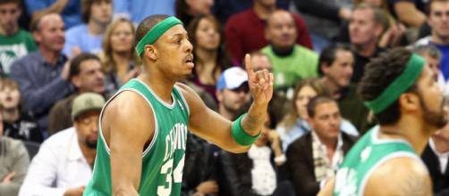 Paul Pierce ranks second in Celtics team history for career scoring. [Image Source: Flickr | Trent Gillespie]