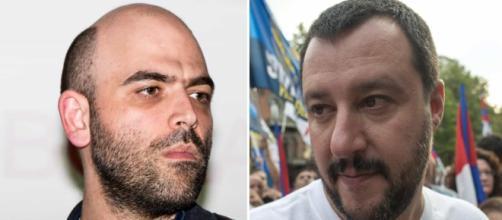 Salvini: 'Un bacione a Saviano. Stiamo rivedendo i criteri per l'assegnazione delle scorte'