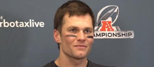 Tom Brady is currently focused on carrying the Patriots to their seventh Super Bowl trophy. [NESN/YouTube/Screencap]