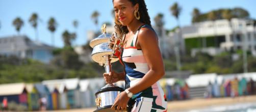 What Naomi Osaka achieved by winning the 2019 Australian Open. (Image via: TennisPro/YouTube/Screencap)