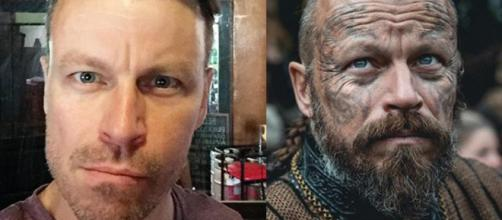 Eles são completamente diferentes descaracterizados. (Reprodução/Instagram/@peter.franzen/History)