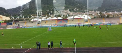 Stadio Pietro Barbetti di Gubbio: Avellino-Pergolettese 3-0