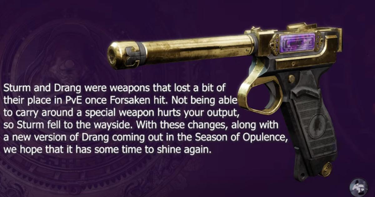 exotic sidearm destiny 2