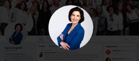 Agnès Cerighelli doit sa notoriété à ses propos homophobes postés sur Twitter.