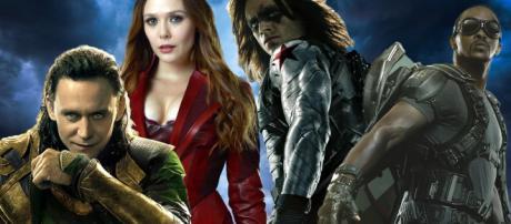 Le serie tv su Scarlet, Visione, Falcon, Il soldato d'Inverno e Loki su Disney+