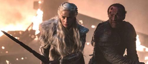 Daenerys Targaryen e Jorah Mormont. (Reprodução/HBO)