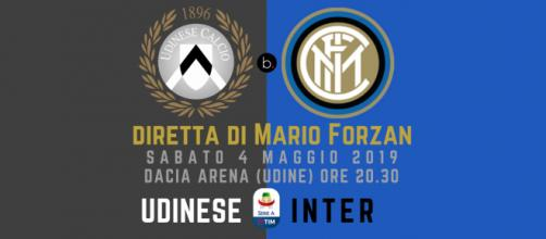 Diretta Serie A: Udinese - Inter dalla Dacia Arena