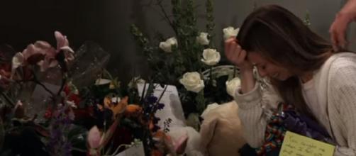 Josslyn devastated after Oscar´s death. - [General Hospital / YouTube screencap]