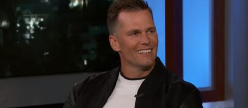 Tom Brady interview. - [Jimmy Kimmel Live / YouTube screencap]