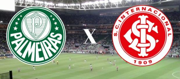 Palmeiras x Internacional ao vivo na TNT. (Arte/ Gabriel Alvesbre)
