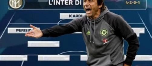 Fotomontaggio: come potrebbe apparire l'Inter di Conte